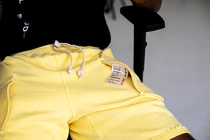 Bristol Studio Reversible Terry Shorts - Yellow
