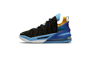 Nike Lebron XVIII - Black/University Gold/Coast