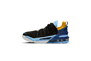 Nike Lebron XVIII (GS) - Black/University Gold/Coast