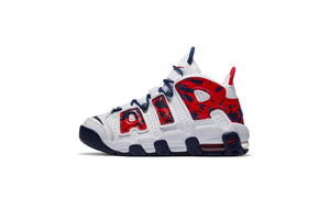 Nike Air More Uptempo (GS) - White/University Red/Blue Void