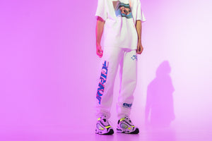 Club Fantasy Joyride Sweat Pants - White