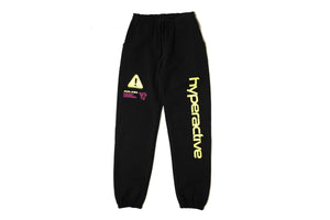 Club Fantasy Hyperactive Sweat Pants - Black