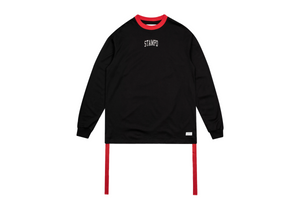 Stampd Collegiate L/S - Black