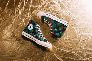 Converse Chuck 70 Hi - Red/Green