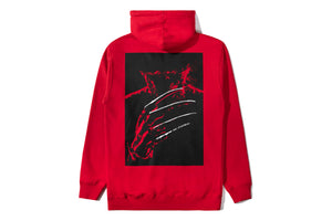 The Hundreds X Nightmare On Elm Cover Hooded Pullover - Red