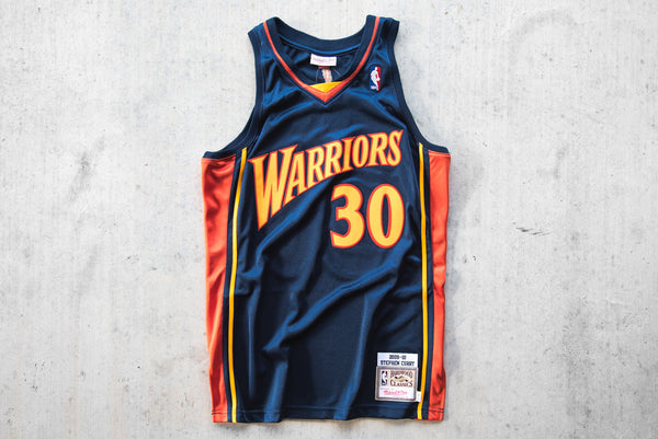 premium selection d527d 7cdf7 M&N NBA Authentic Stephen Curry All Star Jersey - Navy