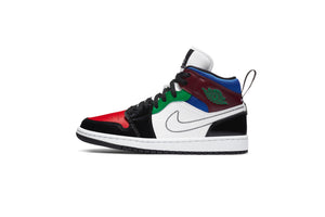 WMNS Air Jordan 1 Mid SE - Black/White/Multi