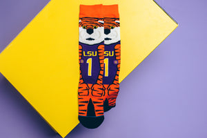Stance Mike The Tiger LSU Socks