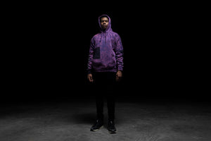 Darkoveli 'High Anxiety' Hoodie  - Purple