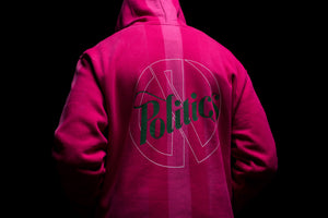 Politics x Darkoveli 'Like Closer' Hoodie - Pink