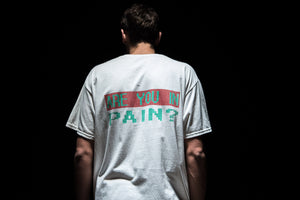 Darkoveli 'Are You In Pain?' S/S Tee - White