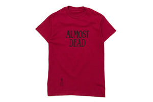 Darkoveli 'Almost Dead' S/S Tee - Red