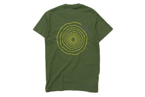 Darkoveli 'Where is my mind' S/S Tee - Military Green