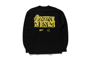 Duke Nukem x Politics Logo Tee L/S - Black/Yellow