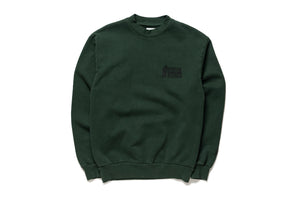 Duke Nukem x Politics Crewneck - Forest Green/Black