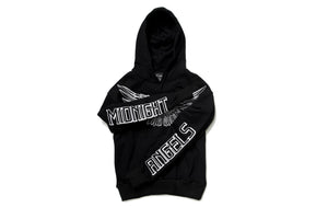 En Noir Midnight Angels Hoodie - Black/White
