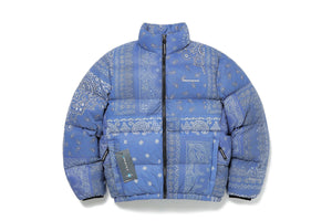 thisisneverthat PERTEX® T Down Jacket - Bandana Blue