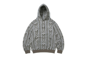 thisisneverthat Floral Hooded Sweatshirt - Beige