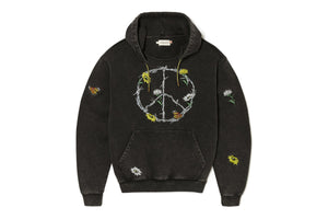 Honor The Gift Iron Peace Hoodie - Black