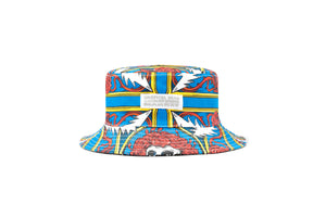 Chinatown Market x Grateful Dead Border Bandana Bucket Hat - Multi