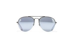Gucci Aviator Sunglasses - Silver/Mirror