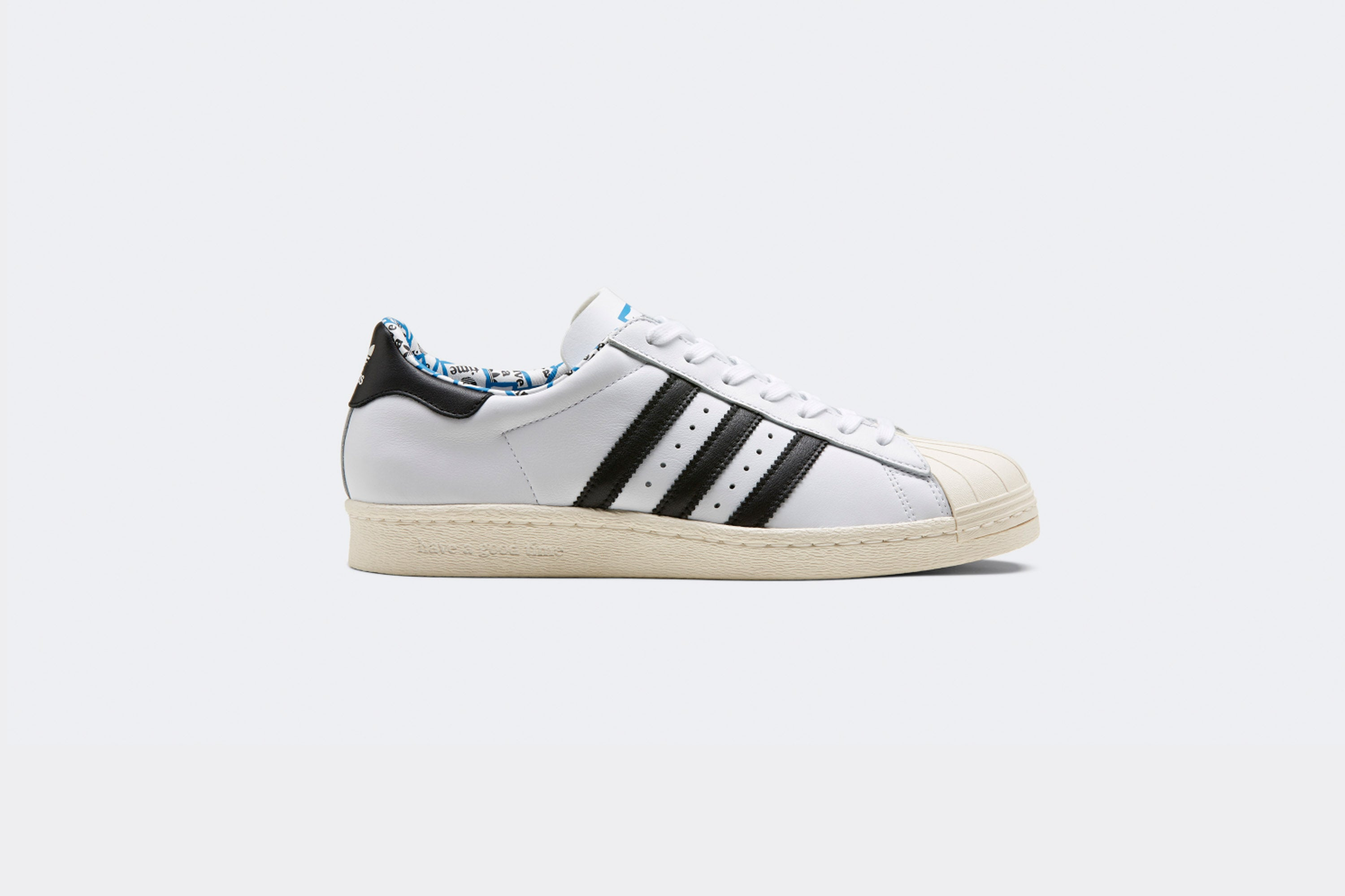 competitive price cea4d 63cf3 Have a Good Time x Adidas SUPERSTAR 80 S - Sneaker Politics