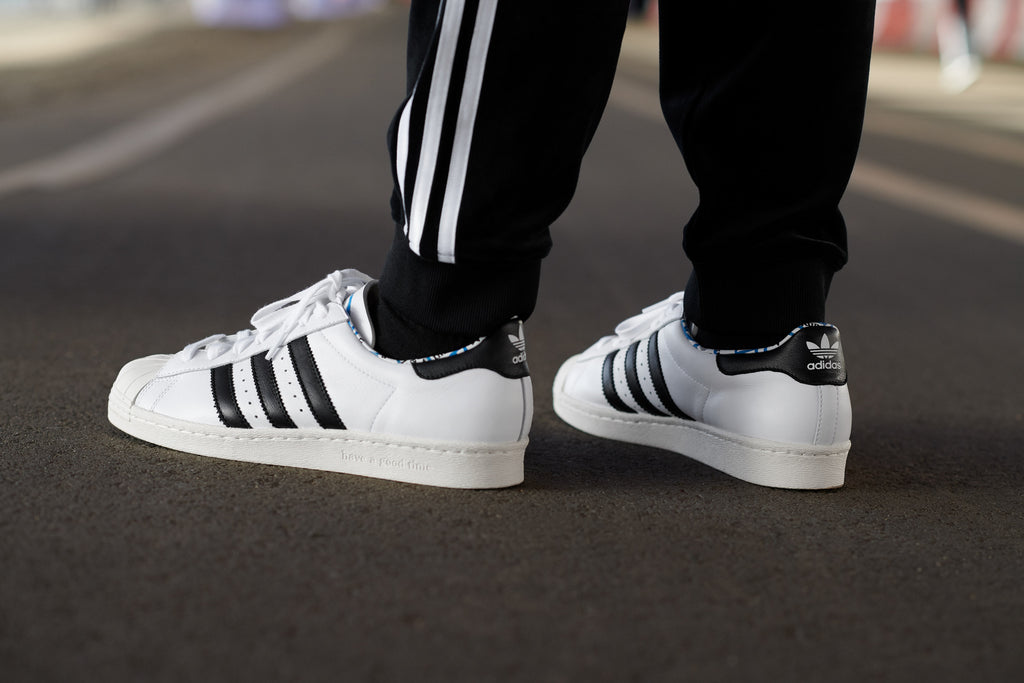 huge selection of 86f58 53539 Have a Good Time x Adidas SUPERSTAR 80'S