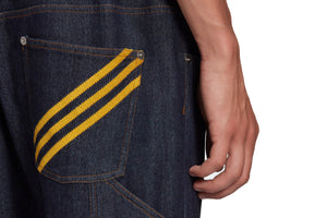 Adidas x Human Made Denim Track Pants - Collegiate Navy