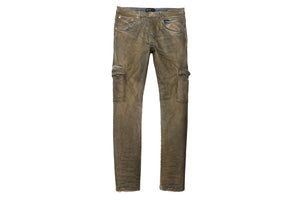 Purple Brand Mid Rise Jeans - Indigo Dirty Resin Cargo