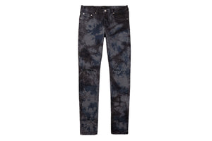 Purple Brand Slim Fit Jeans - Indigo Grey Marble