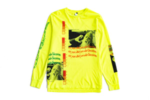 INDVLST 'Think and Become' L/S Tee - Lime