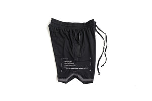 INDVLST 'DNA' Mesh Shorts - Black
