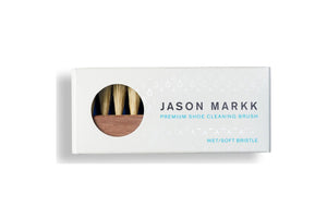 Jason Markk Premium Shoe Soft Bristle Cleaning Brush - Walnut Wood