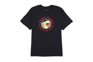 Jungles Press to Escape T-Shirt - Black