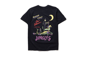 Politics x Jungles Party Alligator Tee - Black