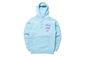 Politics x Jungles Party Alligator Hoodie - Blue