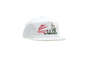 Politics x Jungles Party Alligator Hat - Cream