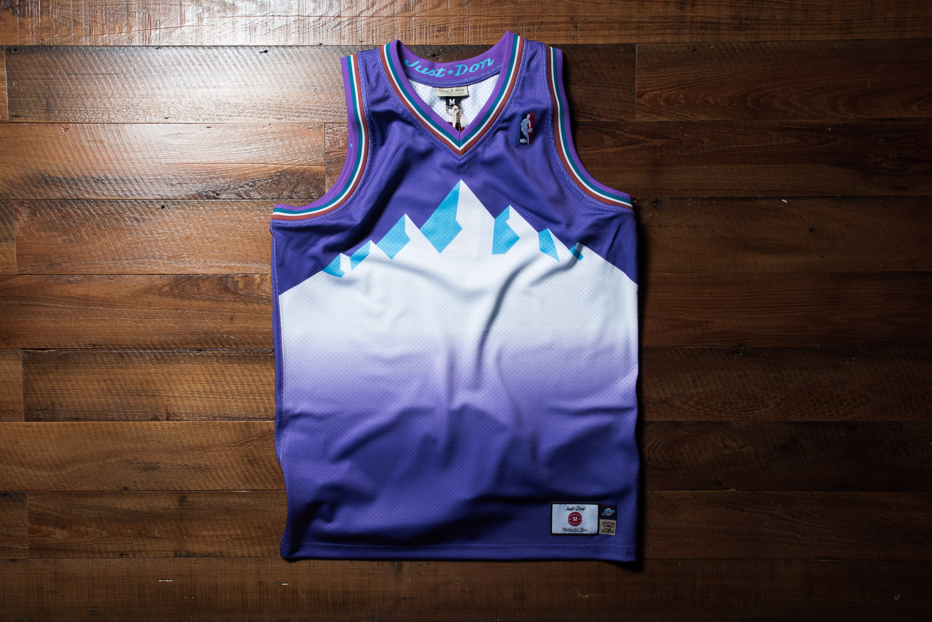 huge discount 9009a 4e4ab Just Don No Name jersey - Utah Jazz