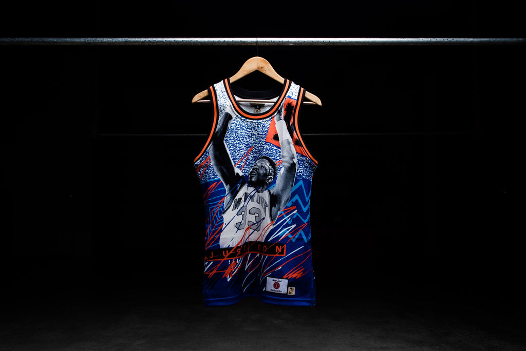 big sale aa776 fe4a4 Just Don 'NBA Jam' Collection Jersey - Ewing/Starks