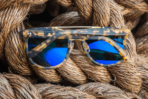 Krewe Du Optic Cl-10 - Matte Osaka Tortoise Polarized 24K