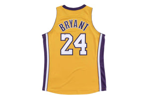 Authentic Jersey Los Angeles Lakers 2008-09 Kobe Bryant - Gold/Purple