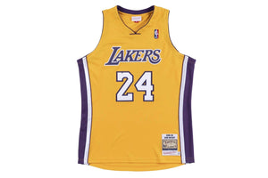 Authentic Jersey Los Angeles Lakers 2008-09 Kobe Bryant - Gold / Purple
