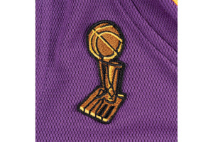 Authentic Jersey Los Angeles Lakers Road Finals 2008-09 Kobe Bryant - Purple/Gold
