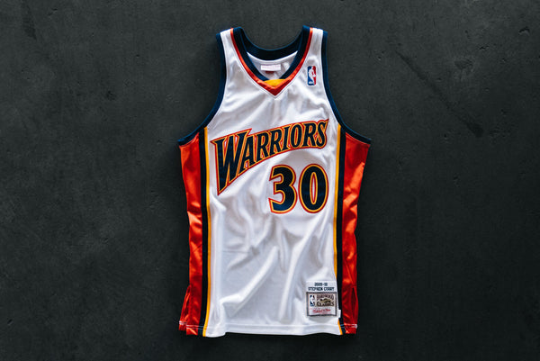 differently 0fde8 0ff3a M&N Warriors Curry Jersey - White