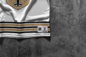 M&N Saints x Concepts Mesh Jersey - White