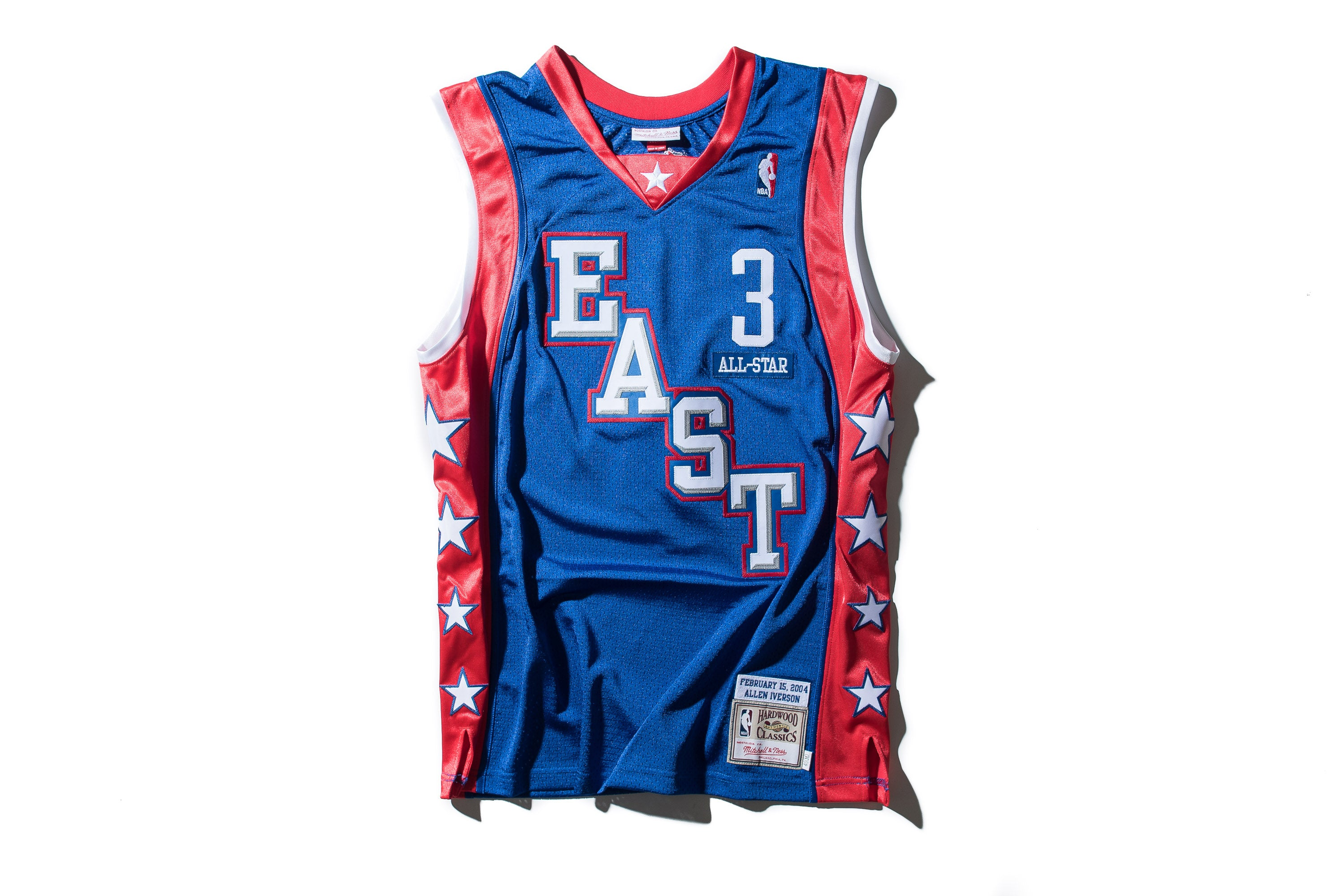 b79034423 Mitchell   Ness Allen Iverson 2004 All Star East Authentic Jersey - Sneaker  Politics