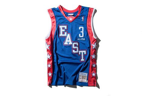 Mitchell   Ness Allen Iverson 2004 All Star East Authentic Jersey 0ed9c0bbf