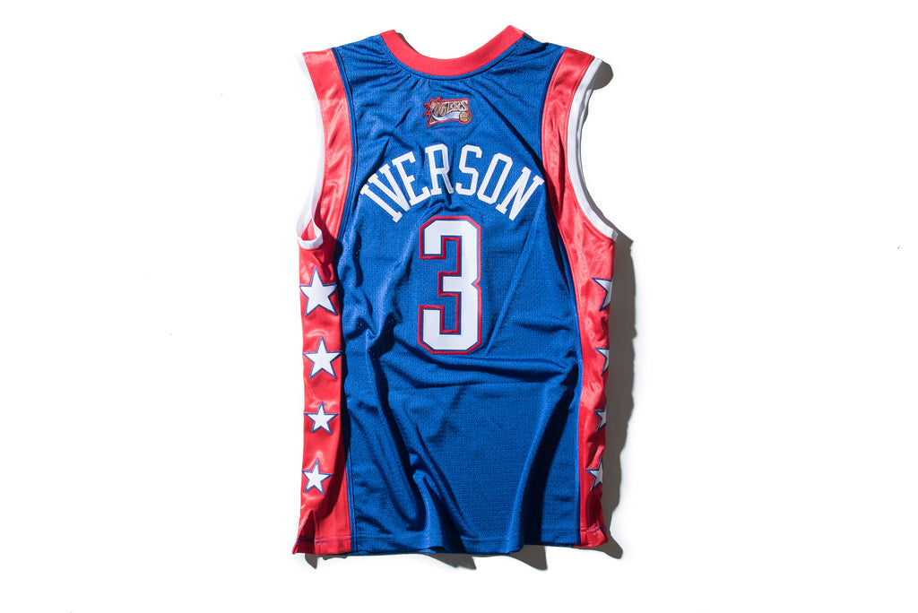 big sale c89c0 bf712 Mitchell & Ness Allen Iverson 2004 All Star East Authentic Jersey