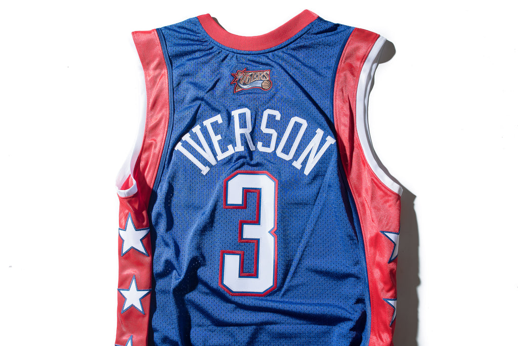 big sale aaf19 bd69b Mitchell & Ness Allen Iverson 2004 All Star East Authentic Jersey