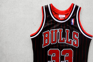 Scottie Pippen 1995-96 Authentic Jersey Chicago Bulls